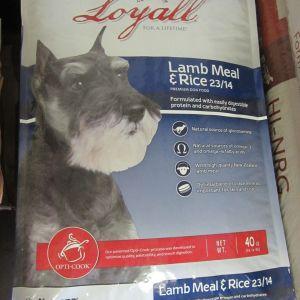Loyall Lamb Rice 23-14 Dog Food