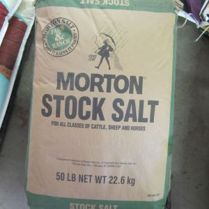 Morton Stock Salt 50lb