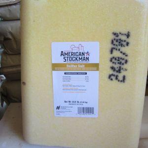 Sulfer Salt Block american stockman