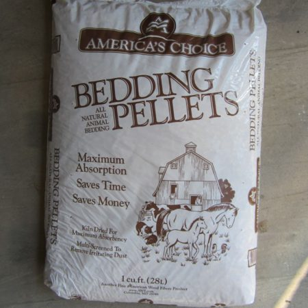 Americas Choice bedding pellets