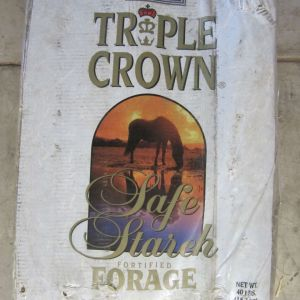 Triple Crown Safe Starch Fortified Forage