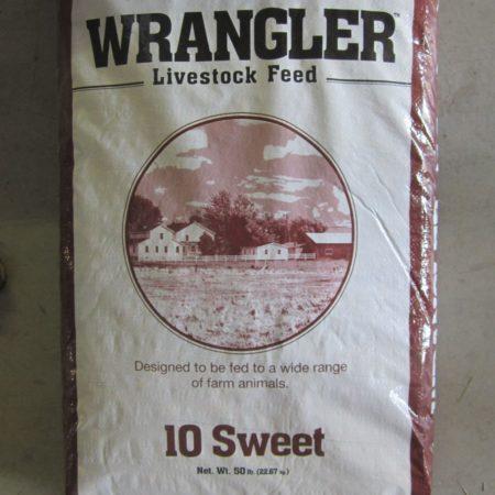 Wrangler 10 Sweet Livestock Feed