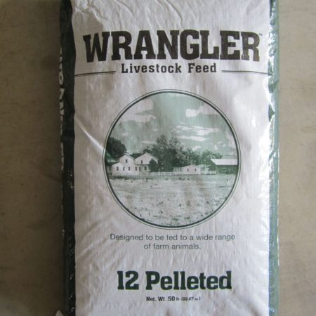 Wrangler 12 Pelleted Livestock Feed