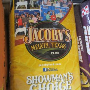 jacobys showmans choice goat feed