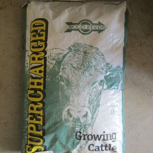supercharged cattle creep feed acco