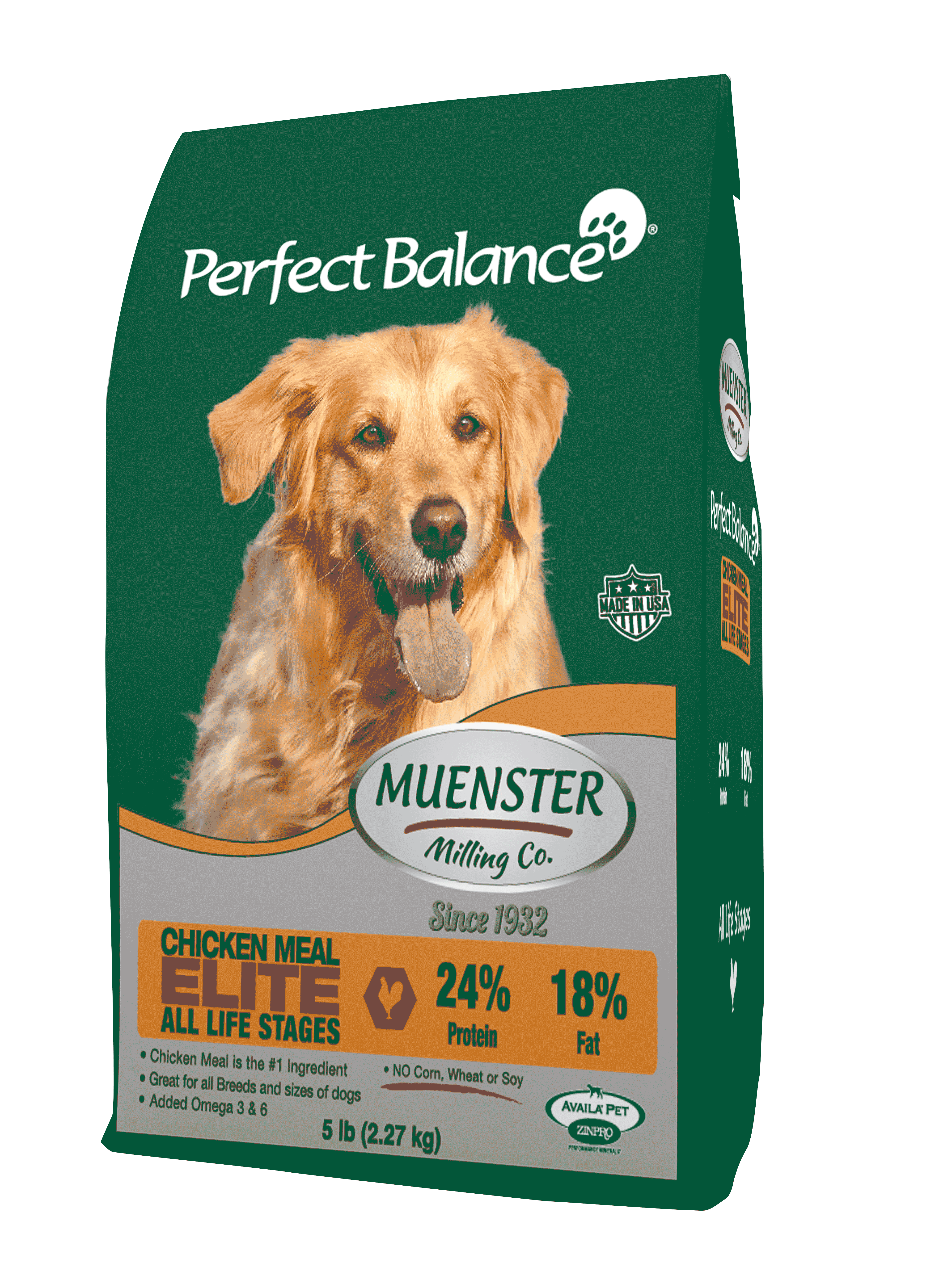 Muenster Perfect Balance Dog Food
